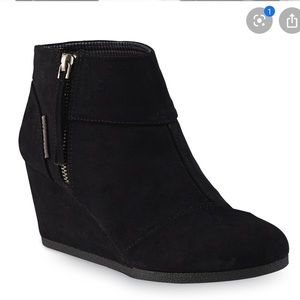 Attention Emmy black booties